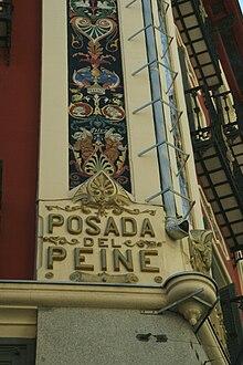 Posada del Peine  Wikipedia la enciclopedia libre