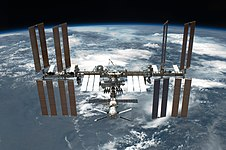 STS-134 International Space Station after undocking.jpg