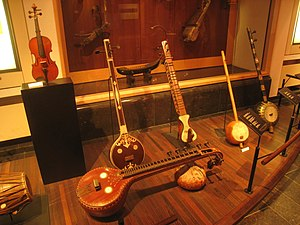 Stringed instruments in the Musical Instrument...