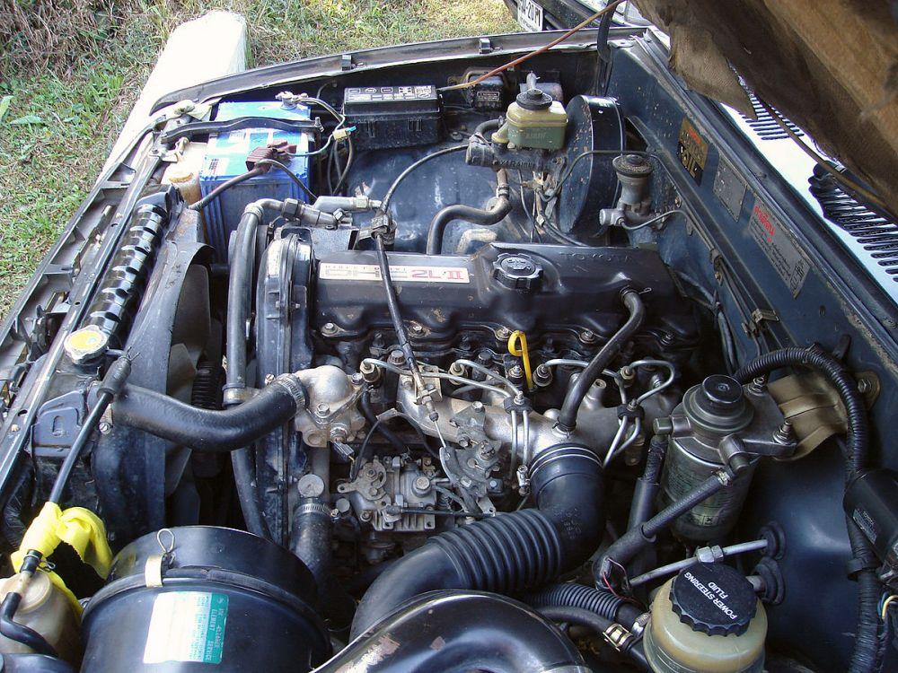 medium resolution of 1987 toyota 2l engine diagram