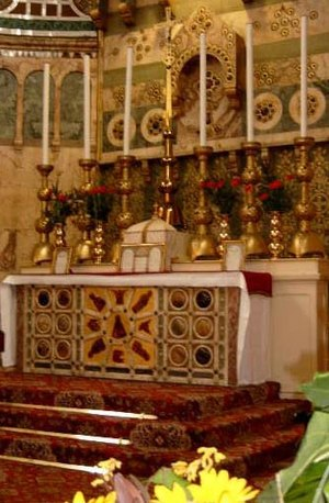 "A visit to the Blessed Sacrament is the ""..."