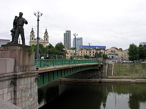 Lietuvių: Vilnius Žaliasis tiltas Foto: Algird...