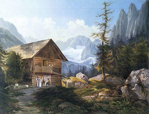 Adalbert Stifter - Im Gosautal