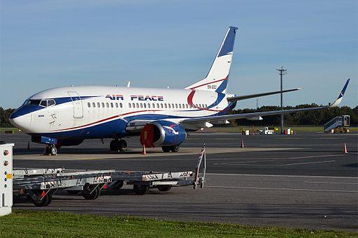 Air Peace, 5N-BQQ, Boeing 737-524 (29582379591)