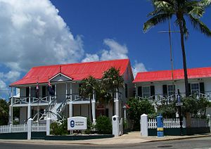 English: Cayman Islands National Museum in Geo...