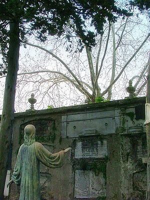 English: Central Cemetery of Montevideo, Urugu...