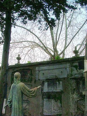 English: Central Cemetery of Montevideo, Urugu...