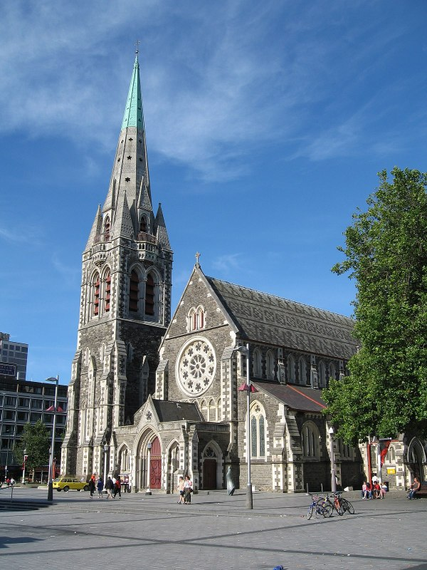 Christchurch Cathedral - Wikipedia