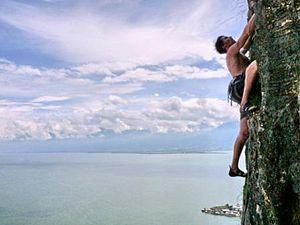 Rock Climbing in Dali