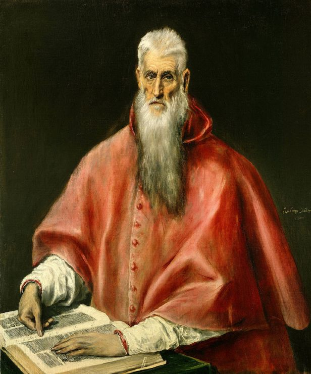 """Saint Jerome as Scholar"" by El Greco"