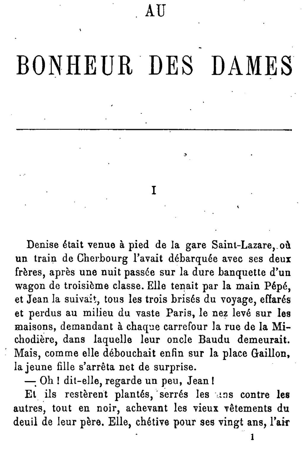 Au Bonheur Des Dames Extrait Description Du Magasin : bonheur, dames, extrait, description, magasin, Page:Emile, Bonheur, Dames.djvu/1, Wikisource