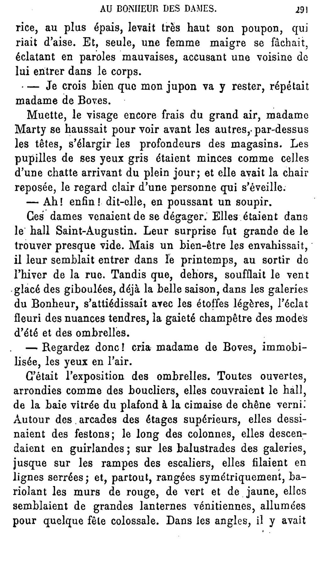 Au Bonheur Des Dames Extrait Description Du Magasin : bonheur, dames, extrait, description, magasin, Page:Emile, Bonheur, Dames.djvu/291, Wikisource