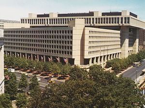 FBI Headquarters.
