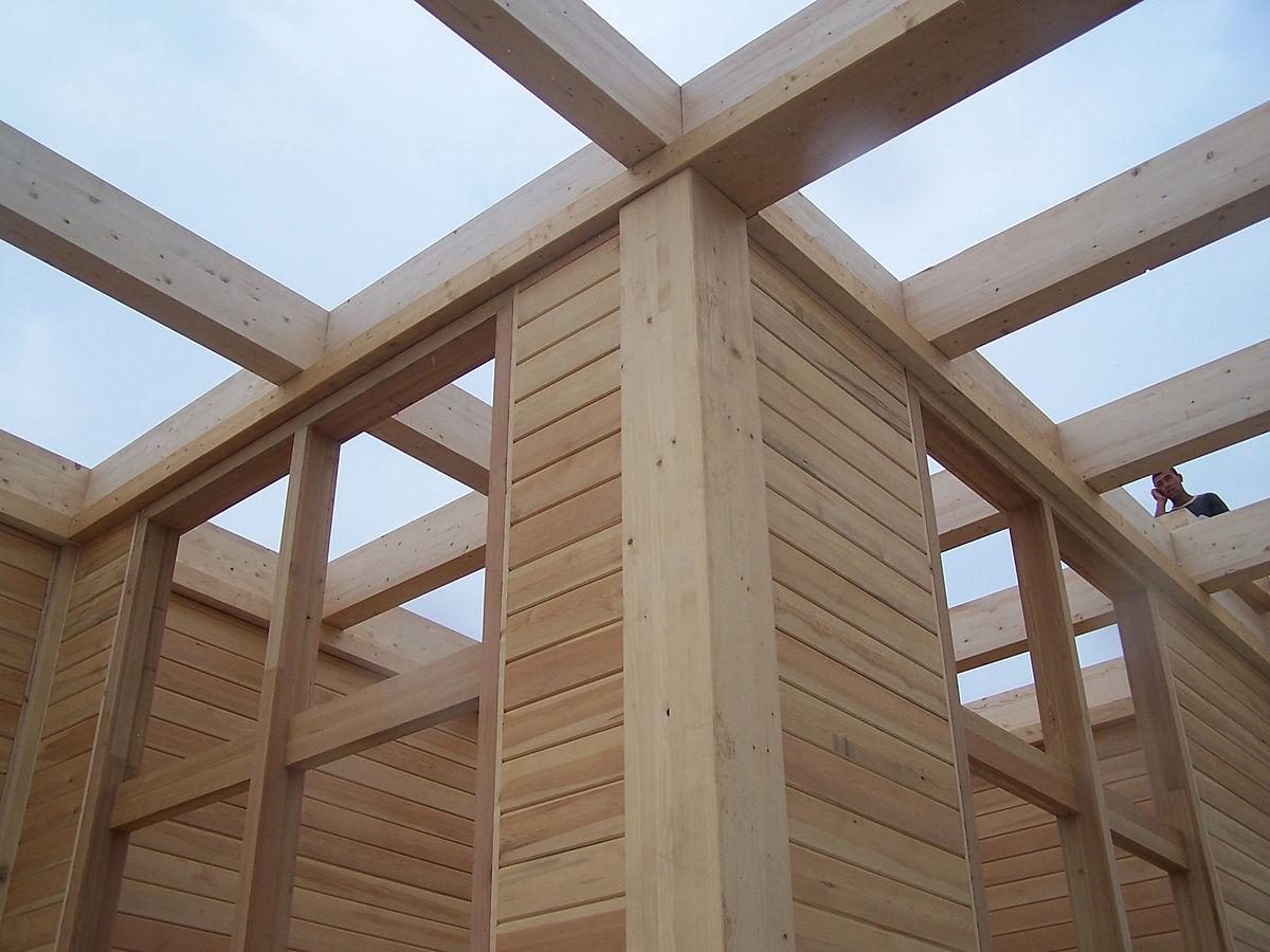 bois materiau de construction