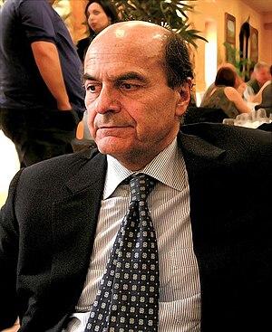 English: Pier Luigi Bersani in Agrigento Itali...
