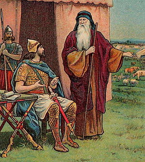 English: Saul Rejected as King; as in 1 Samuel...