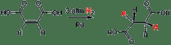 Hidrogenasi asam maleat