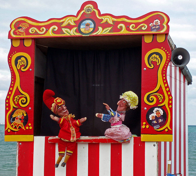 File:Swanage Punch & Judy.JPG