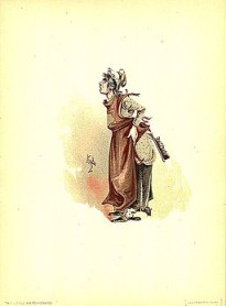 The Marchioness 1889 Dickens The Old Curiosity Shop character by Kyd (Joseph Clayton Clarke)