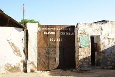 English: Entrance of the jail of Toliara (Mada...