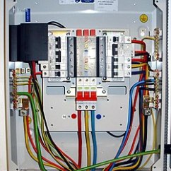 Three Phase Contactor Wiring Diagram Hifonics Brutus לוח חשמל – ויקיפדיה