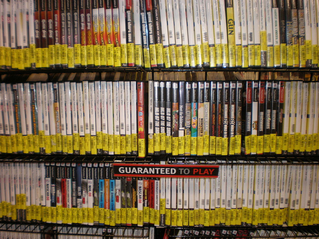FileUsed PS2 Games At GameStop StonestownJPG Wikimedia Commons