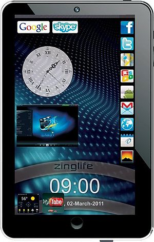 "English: Zinglife 7"" Android Tablet"