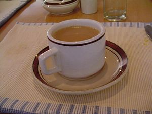 English: A cup of masala chai Polski: Filiżank...