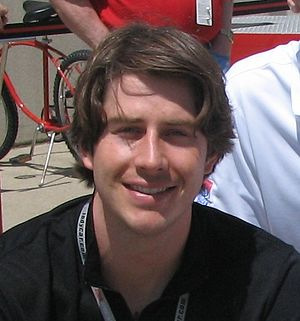 Arie Luyendyk, Jr. at the Indianapolis Motor S...