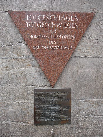 English: Memorial to Gay Victims of the Holoca...