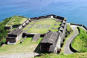 English: Brimstone Hill Fortress, St Kitts.