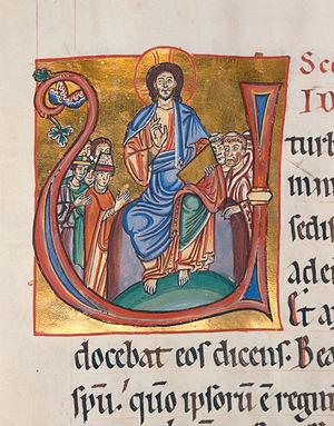 Evangelistar von Speyer, um 1220 Manuscript in...