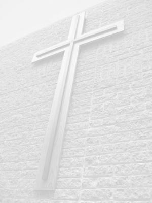 English: Trinity Presbyterian Church Cross in ...