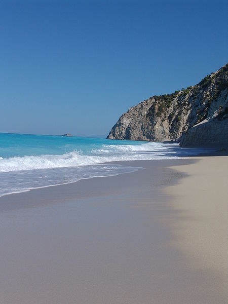 FileEgremni Beach Lefkada Greecejpg Wikimedia Commons