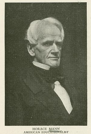English: American education reformer Horace Mann