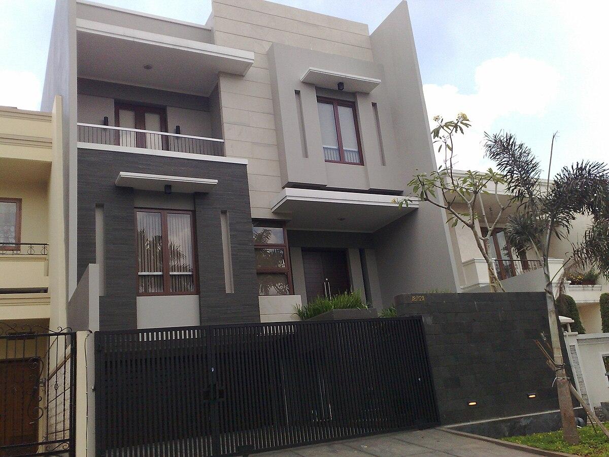 contoh atap baja ringan rumah minimalis - wikipedia bahasa indonesia, ensiklopedia bebas
