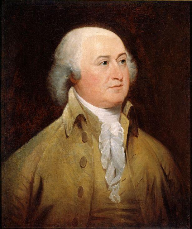 """John Adams"" byJohn Trumbull"