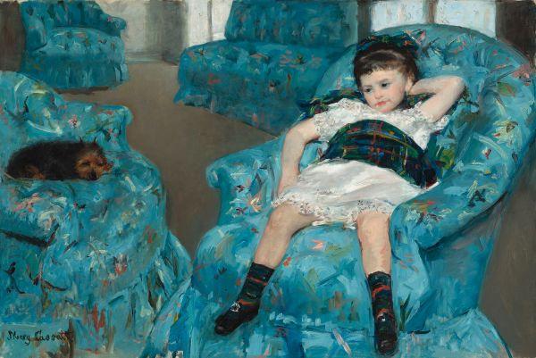 Little Girl In Blue Armchair - Wikipedia
