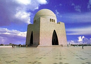 Mausoleum of M.A Jinnah is frequently visited ...