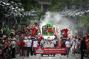 Myer Christmas parade 2007