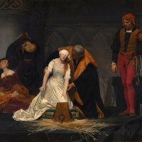 """""""The Execution of Lady Jane Grey"""" byPaul Delaroche"""