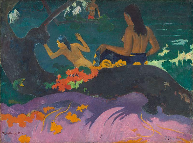 Paul Gauguin, Près de la mer, 1892