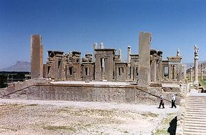 Persépolis. Palais de Darius