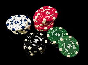 English: Poker Chips