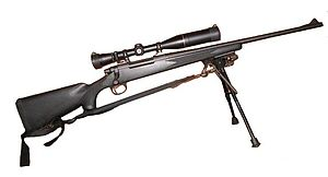 Remington Model 700 sniper rifle Remington Mod...