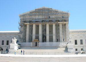 United States Supreme Court building under res...