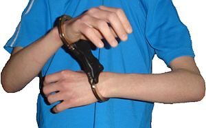 English: Speedcuffs Handcuffs Handcuffed Handc...
