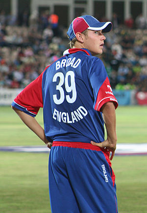 Stuart Broad in the 3rd ODI at the Rose Bowl, ...