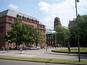 The University of Freiburg, where Heidegger wa...
