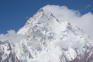 Upper part of K2